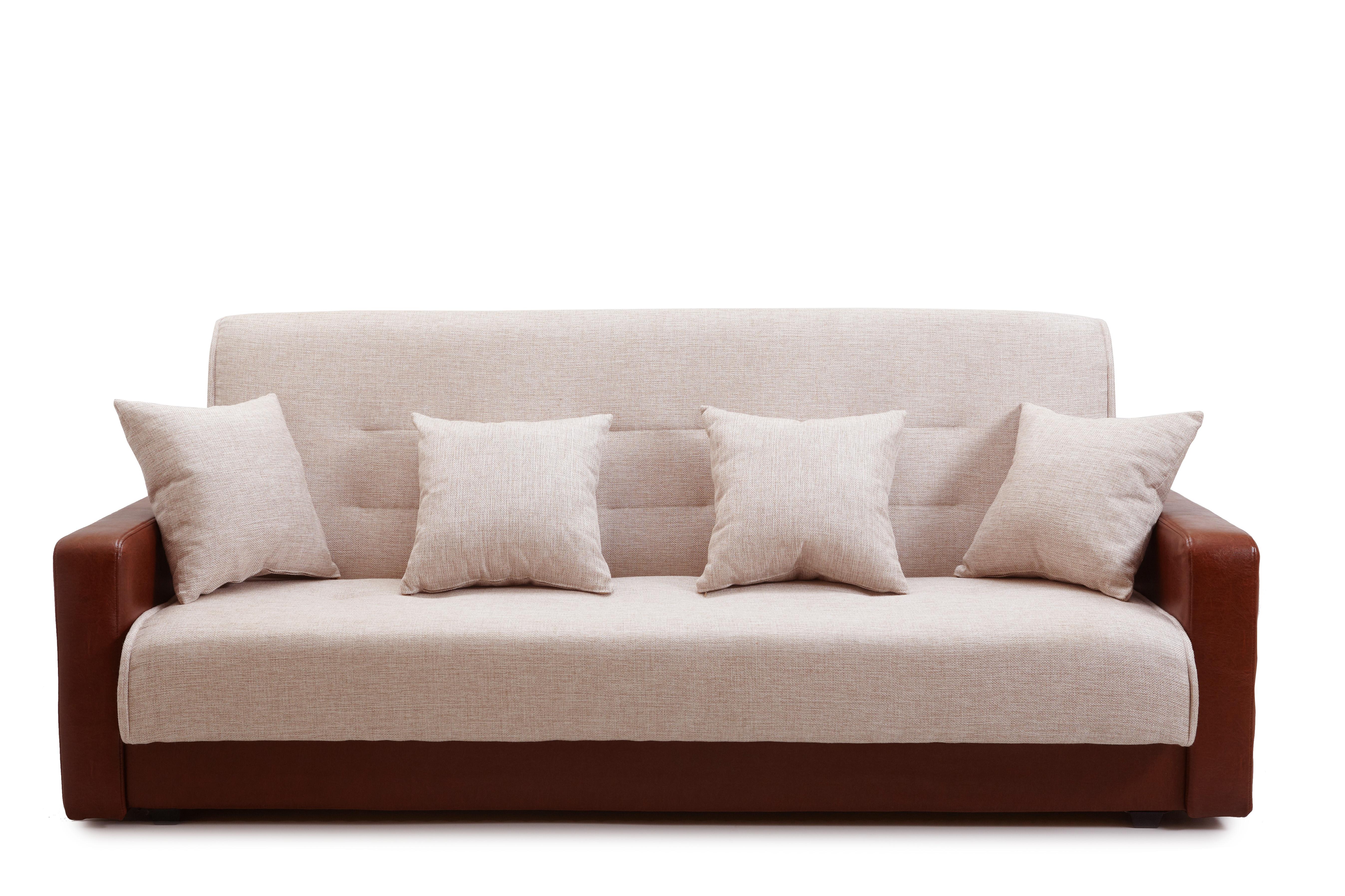 Прямой диван Лира (с 2-мя подушками) фото