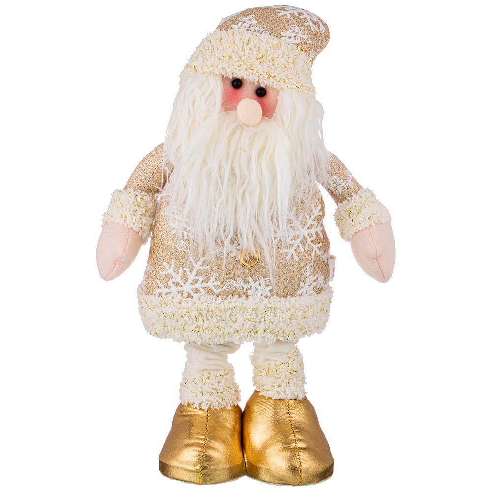 Фото - Фигурка золотая коллекция Дед мороз  60 см фигурка дед мороз m97 дед мороз пластик текстиль красный