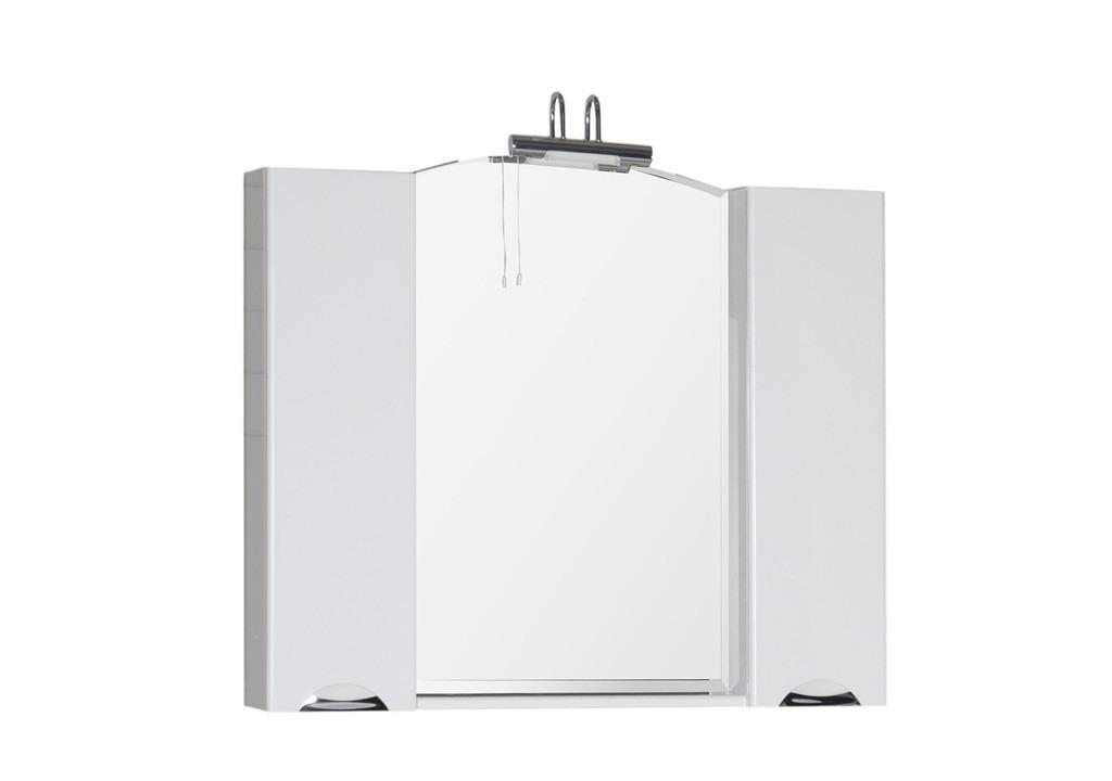Зеркало Aquanet Асти 105 белыйЗеркало- шкаф для ванной<br><br><br>Длина мм: 0<br>Высота мм: 0<br>Глубина мм: 0<br>Цвет: Белый Глянец