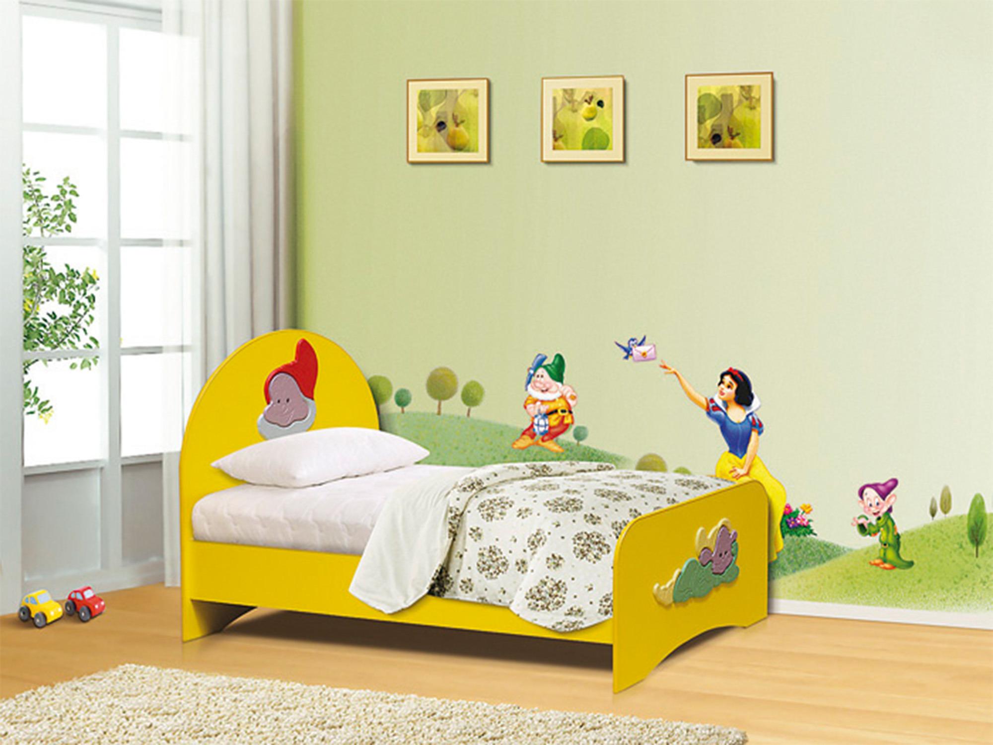 Кровать ГномДетские кровати<br><br><br>Длина мм: 870<br>Высота мм: 900<br>Глубина мм: 1710