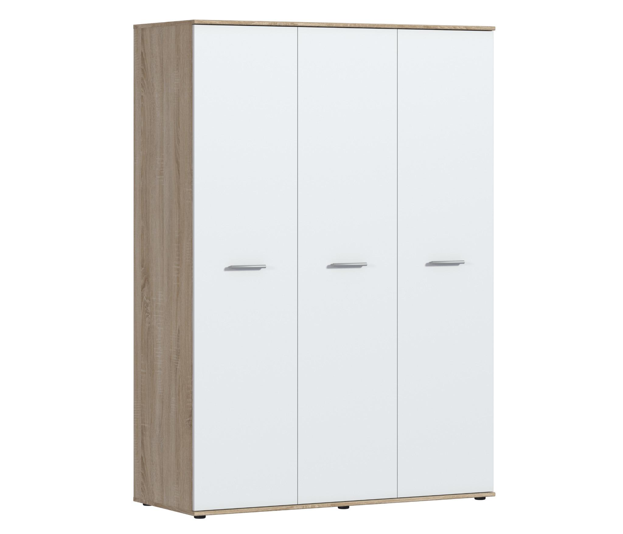 Мамбо СБ-2676 Шкаф 3-х дверныйШкафы<br><br><br>Длина мм: 1350<br>Высота мм: 1911<br>Глубина мм: 550
