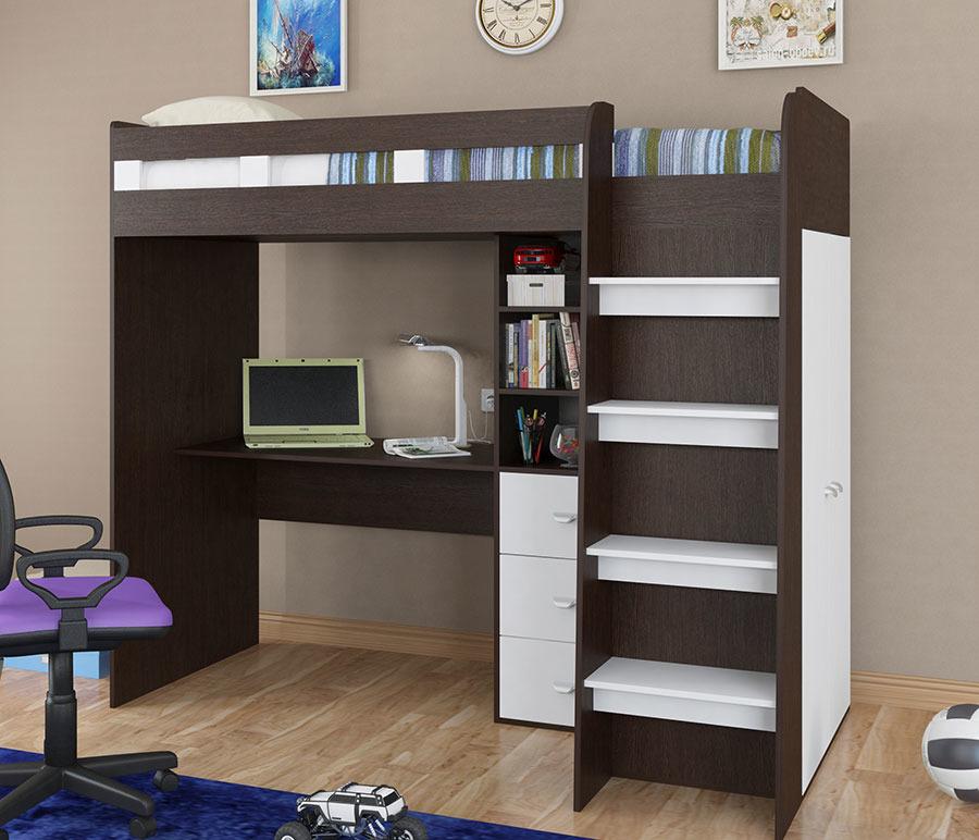 Двухъярусная кровать Golden Kids 5 квКровати двухъярусные<br><br><br>Длина мм: 1166<br>Высота мм: 1810<br>Глубина мм: 2042
