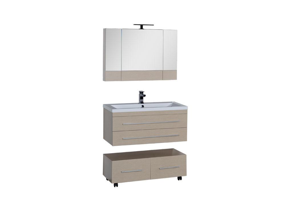 Комплект мебели Aquanet Нота 100 (камерино)Комплекты мебели для ванной<br><br><br>Длина мм: 0<br>Высота мм: 0<br>Глубина мм: 0<br>Цвет: Светлый дуб (камерино)
