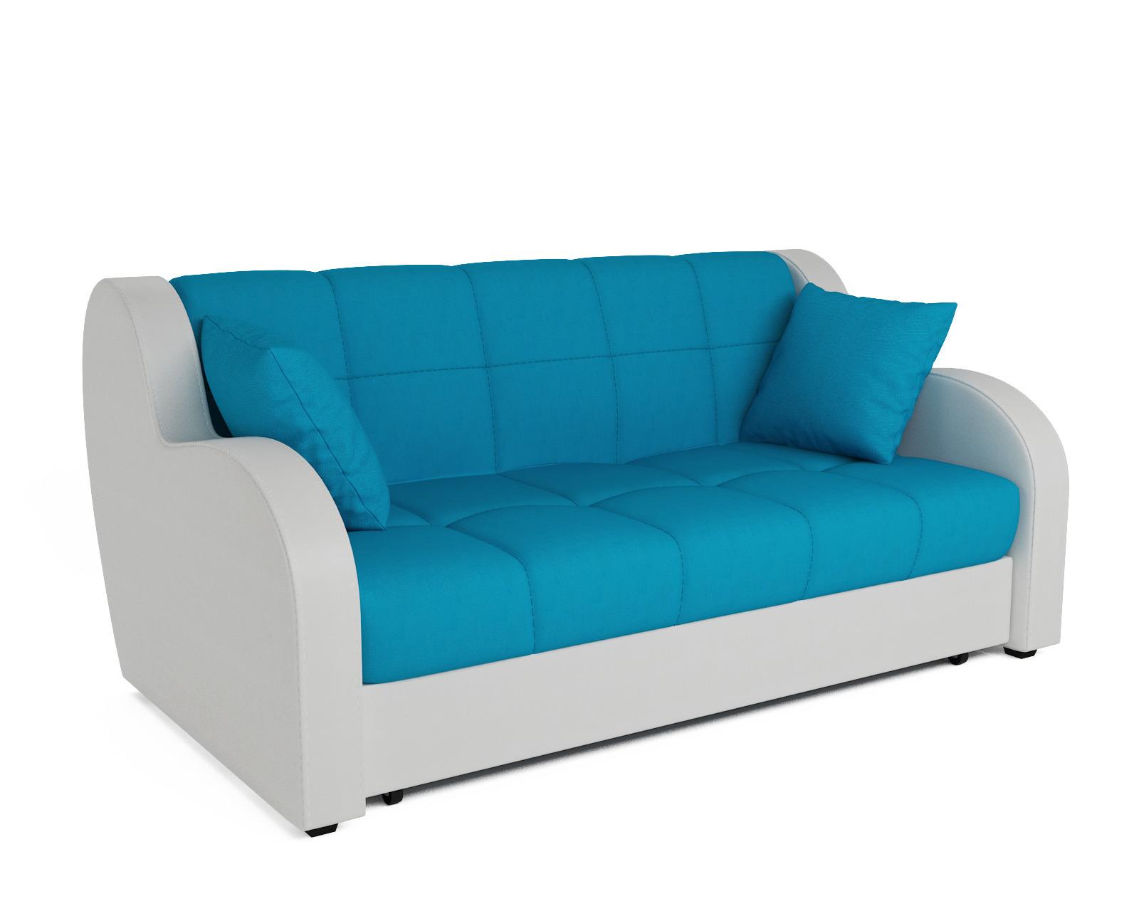 Прямой диван Аккордеон Боро (синий)