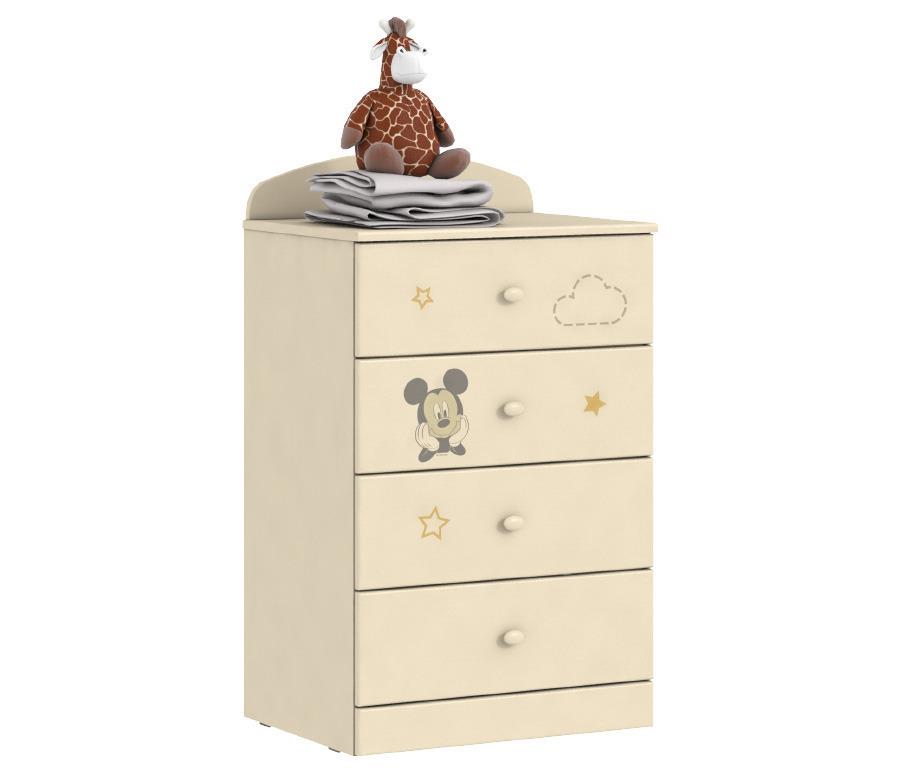 Денди Disney СБ-1414 КомодДетские комоды<br>Любимые герои Disney теперь на мебели  Столплит !&#13;Пастельные тона мебели и любимый с детства Микки Маус - отлично впишутся в интерьер комнаты как мальчиков, так и девочек.&#13;Комод «Денди СБ-1414N»станет заменимым атрибутом детской комнаты вашего ребенка. Данная модель отличается функциональным дизайном   комод оборудован четырьмя выдвижными ящиками, расположенными друг под другом.<br><br>Длина мм: 590<br>Высота мм: 1036<br>Глубина мм: 451