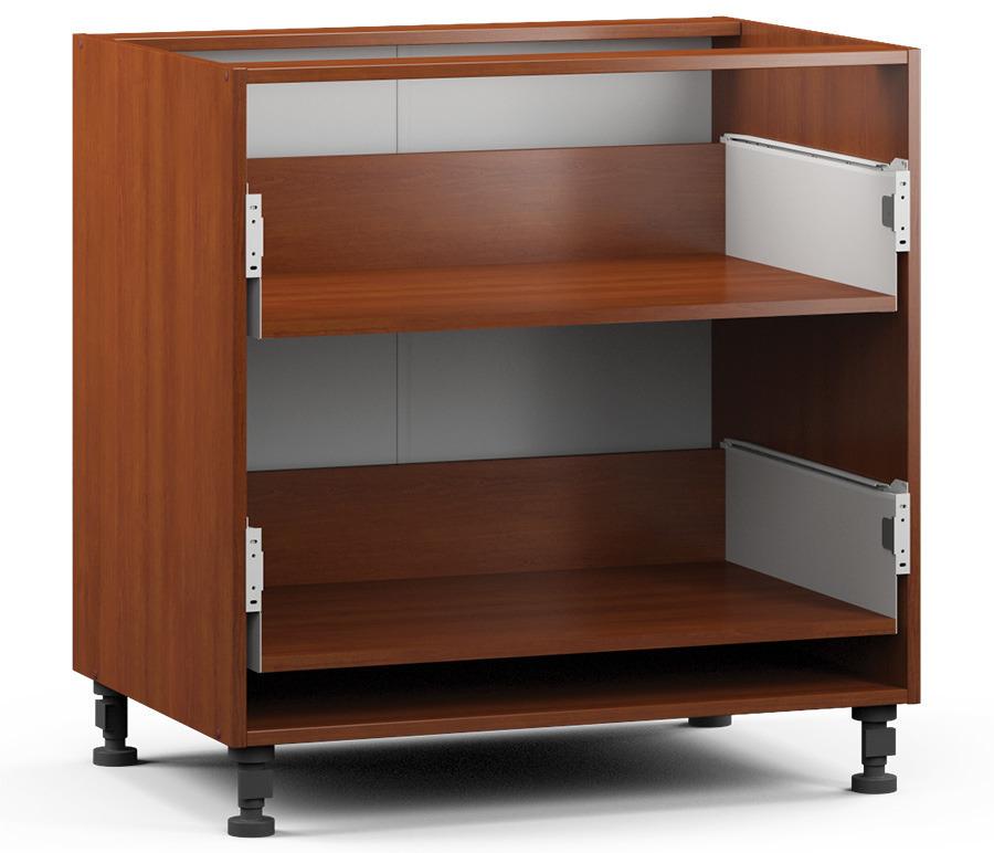 Регина РСЯ-80 Шкаф-Стол с 2-мя ящикамиМебель для кухни<br>Корпус для универсального кухонного шкафа.<br><br>Длина мм: 800<br>Высота мм: 820<br>Глубина мм: 563