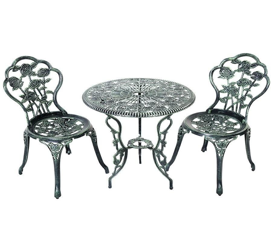 Комплекты стол и стулья OP2782Дачная мебель<br><br><br>Длина мм: 0<br>Высота мм: 0<br>Глубина мм: 0<br>Цвет: Античный зеленый