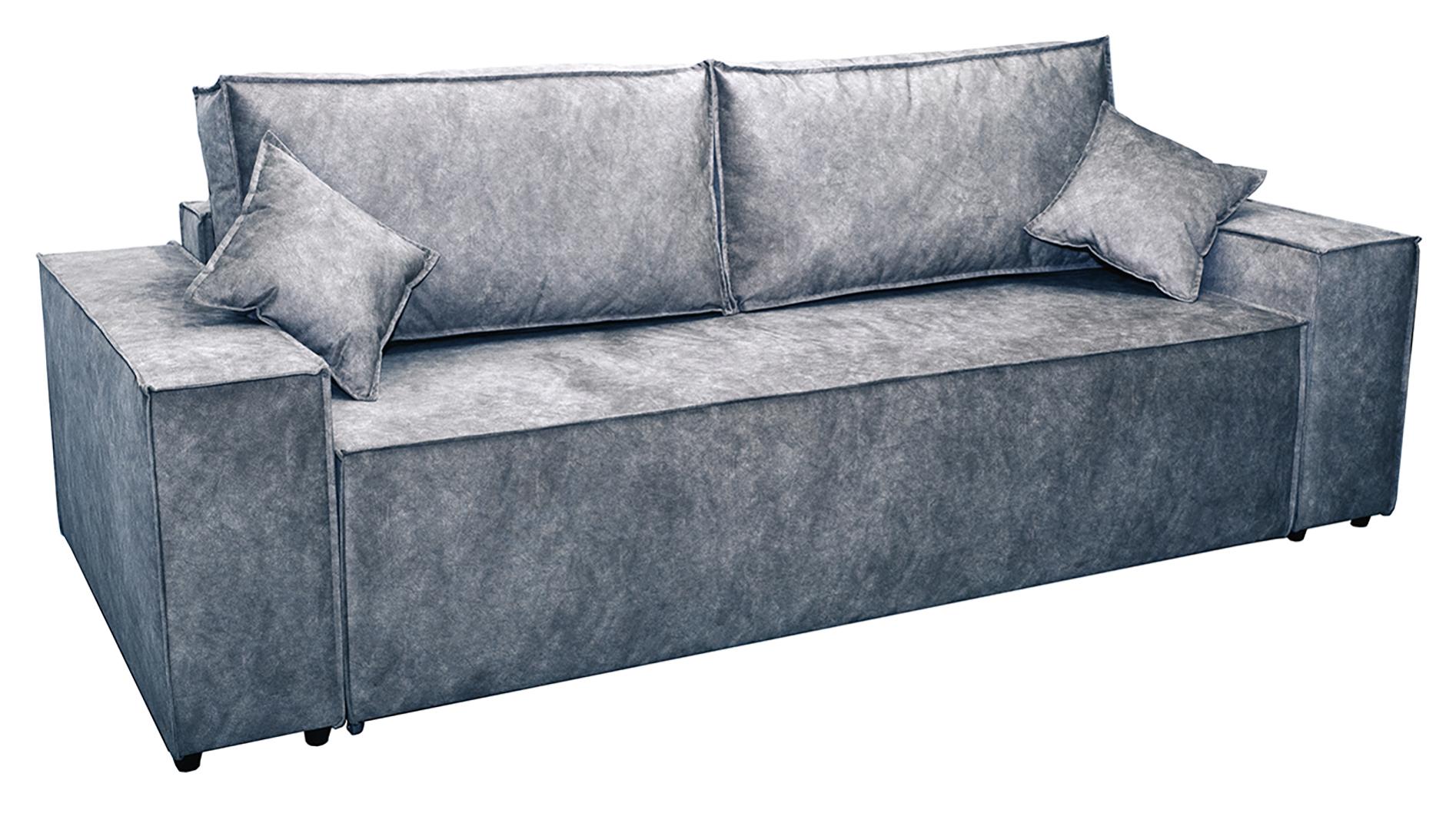 Прямой диван Стоун, велюр