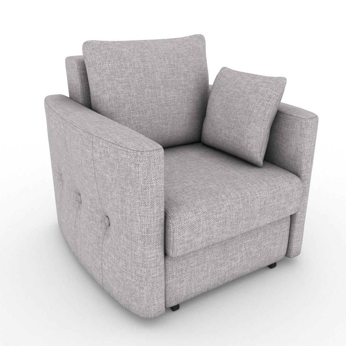 Кресло-кровать Luna, рогожка