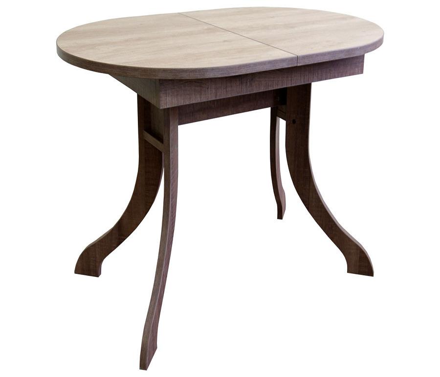 Стол раздвижной Борнео-б. Столешница овальная. Подстолье бабочкаСтолы и стулья<br><br><br>Длина мм: 0<br>Высота мм: 75<br>Глубина мм: 70