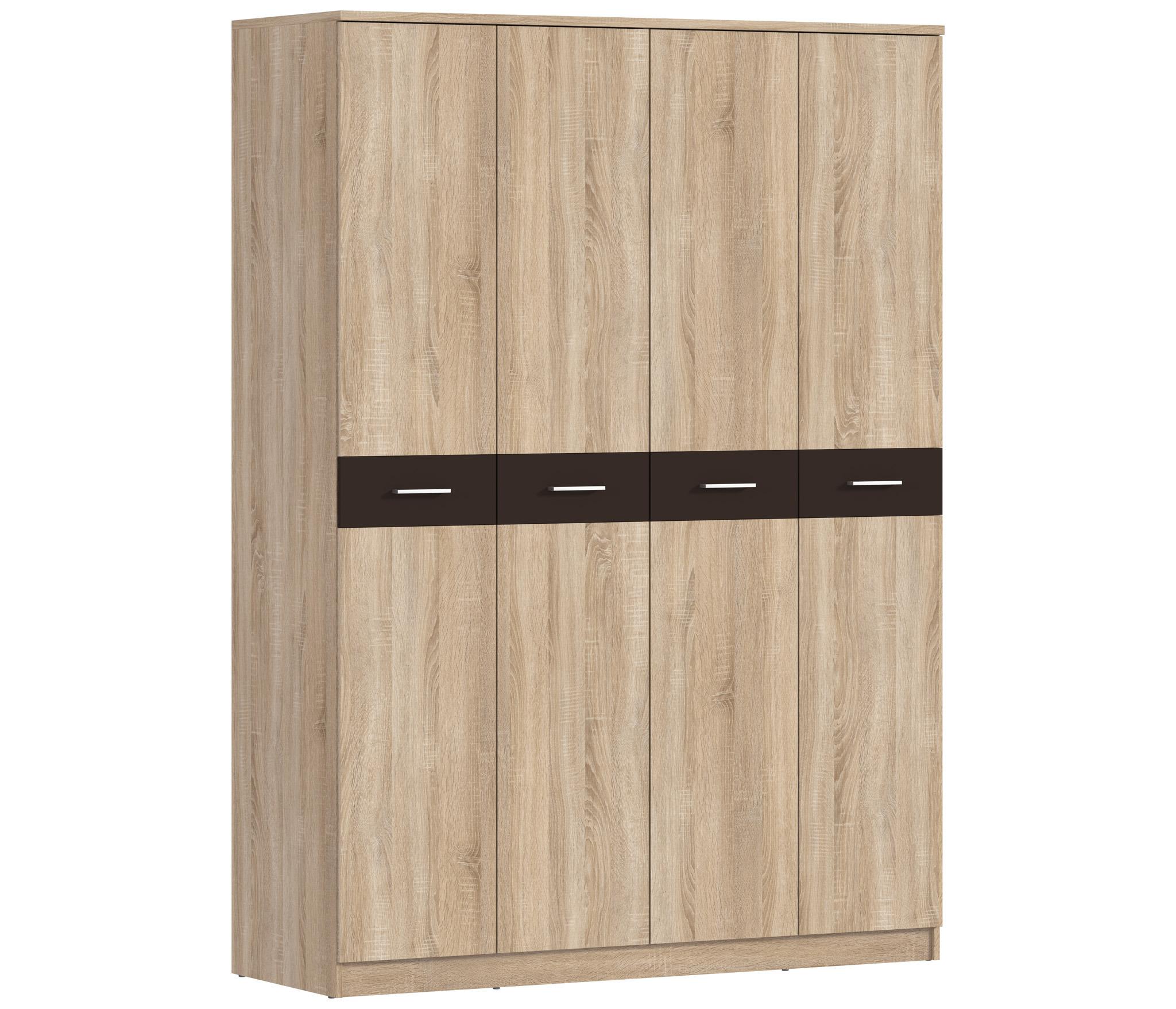 Клео СБ-2006 Шкаф 4-х дверныйШкафы<br>Это модель шкафа простая по форме и цветовому решению, в которой сочетаются лёгкость и лаконичность.<br><br>Длина мм: 1600<br>Высота мм: 2226<br>Глубина мм: 579