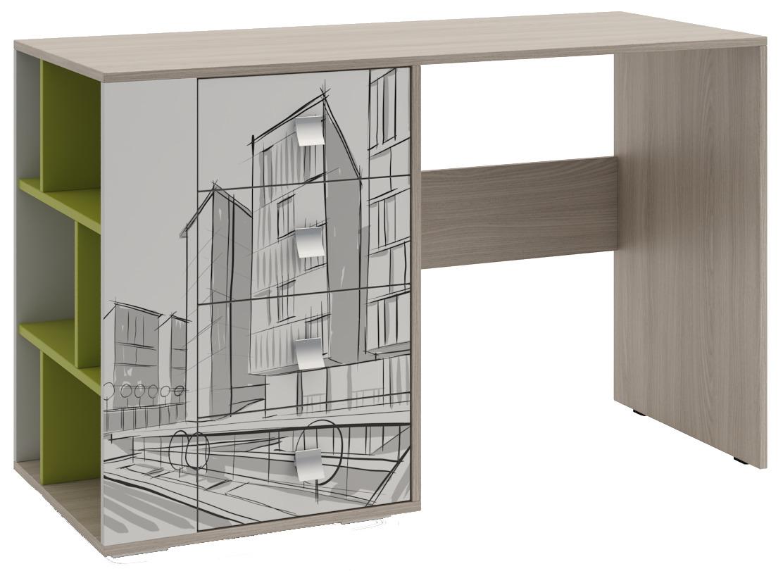Стол для детской МегаполисПисьменные столы<br><br><br>Длина мм: 1200<br>Высота мм: 750<br>Глубина мм: 500