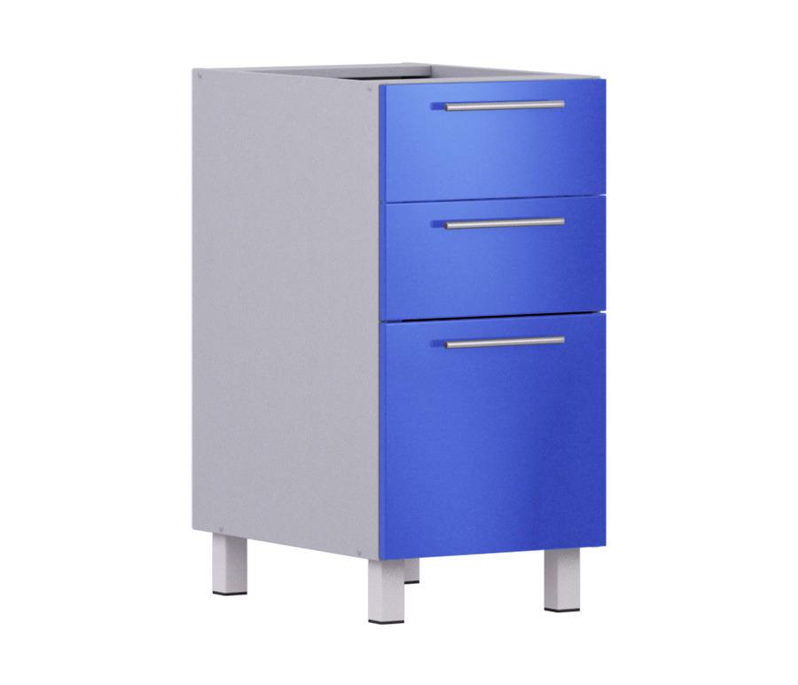 Анна АСЯ-40 стол  с 3-мя ящикамиКухня<br><br><br>Длина мм: 400<br>Высота мм: 820<br>Глубина мм: 563