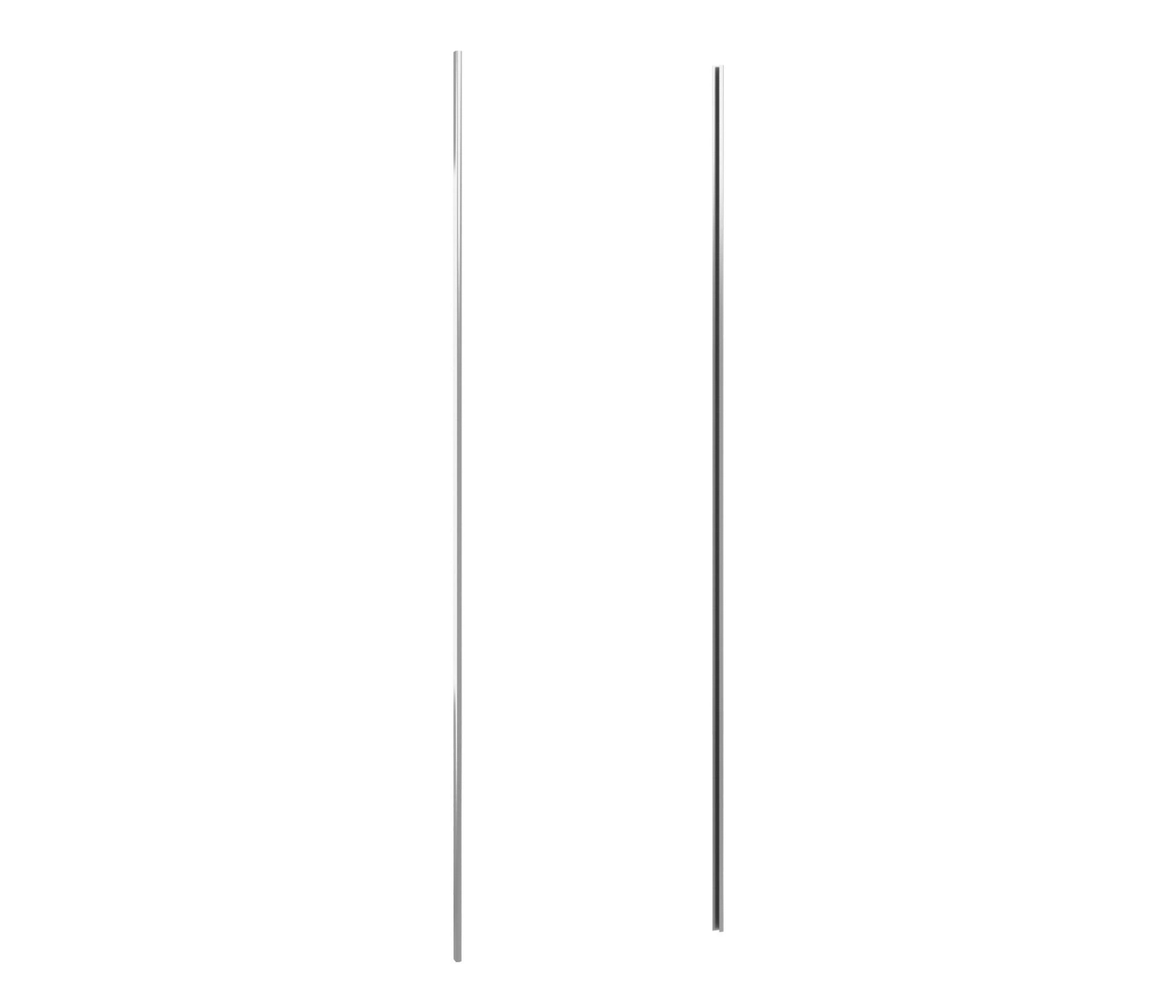 Палермо Комплект профилей для шкафа-купе 1350Комплектующие<br>Профиль для шкафа-купе  Палермо  изготавливается из стальной ленты самого высокого качества, покрытой с обеих сторон слоем цинка, который не боится влажности и не подвержен коррозии.