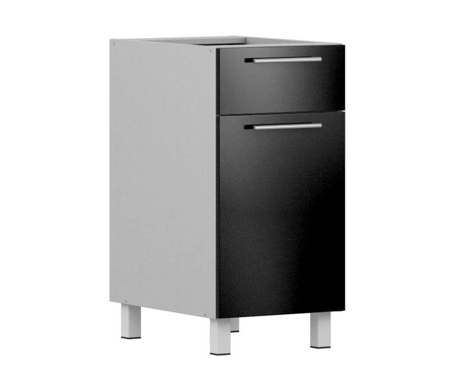 Анна АСДЯ-40 стол с ящиком и дверкойМебель для кухни<br><br><br>Длина мм: 400<br>Высота мм: 820<br>Глубина мм: 563