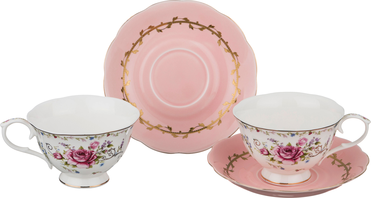 Чайный набор 4 предмета 220 мл. недорого