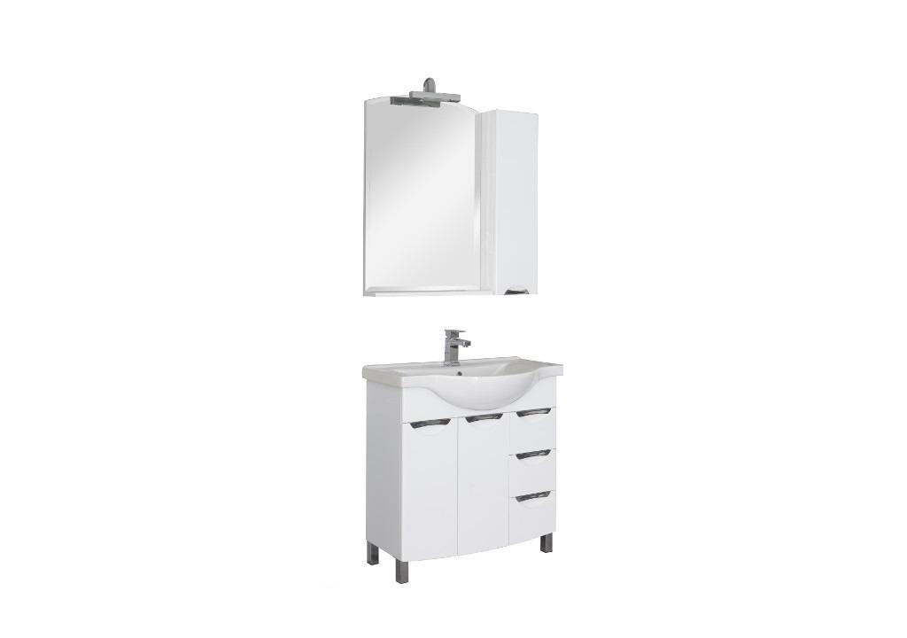 Комплект мебели Aquanet Асти 85 белыйКомплекты мебели для ванной<br><br><br>Длина мм: 0<br>Высота мм: 0<br>Глубина мм: 0<br>Цвет: Белый