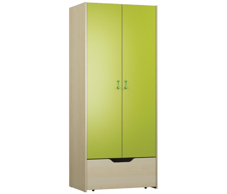 Маугли СБ-2066 Шкаф 2-х дверныйШкафы<br><br><br>Длина мм: 832<br>Высота мм: 2000<br>Глубина мм: 554