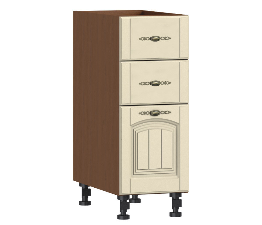 Регина РСЯ-30 Стол с ящикамиКухня<br><br><br>Длина мм: 0<br>Высота мм: 0<br>Глубина мм: 0<br>Цвет: Орех/Беж