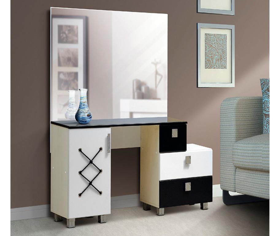 Стол туалетный с зеркалом МорячкаТуалетные столики<br><br><br>Длина мм: 1500<br>Высота мм: 1455<br>Глубина мм: 385