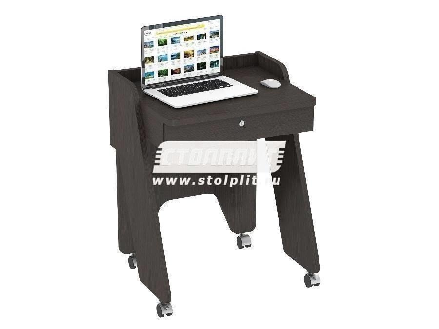 Стол компьютерный КС 2013Компьютерные столы<br><br><br>Длина мм: 650<br>Высота мм: 820<br>Глубина мм: 530<br>Цвет: Дуб молочный