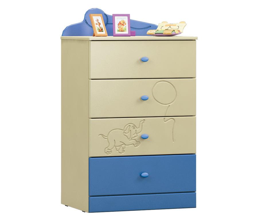 Денди СБ-1414N КомодКомоды<br>Комод  Денди СБ-1414N  станет заменимым атрибутом детской комнаты вашего ребенка.<br><br>Длина мм: 590<br>Высота мм: 1036<br>Глубина мм: 451