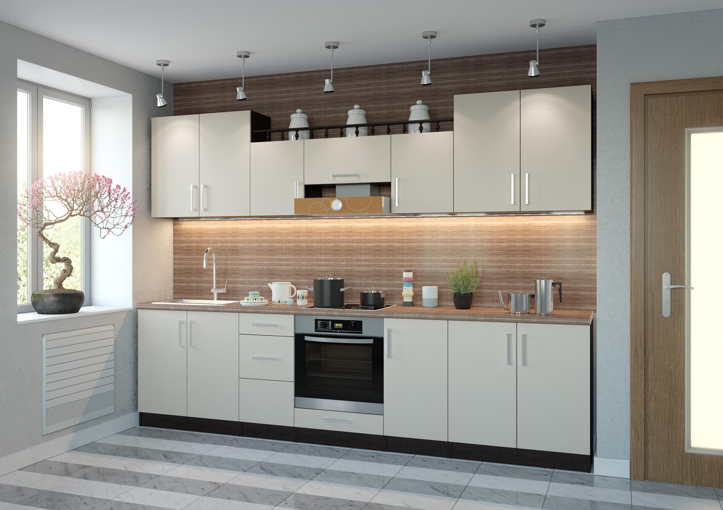 Арина-4 кухонный гарнитурКухонные гарнитуры<br>Дополнительные элементы к данному товару можно посмотреть и приобрести в разделекомплектующие для кухонь&#13;]]&gt;<br><br>Длина мм: 3000<br>Высота мм: 2020<br>Глубина мм: 600
