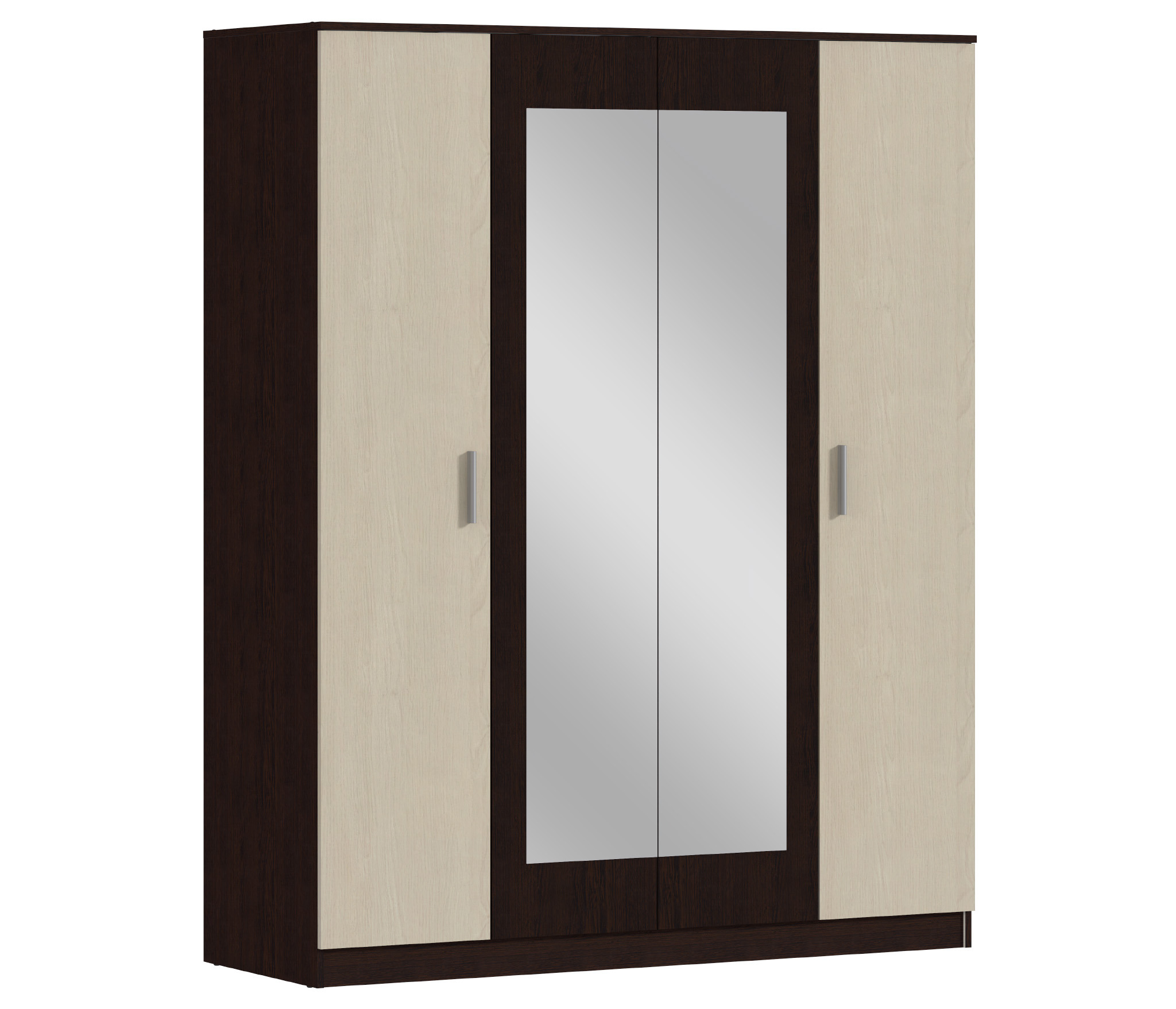 Уют СБ-2750 Шкаф 4-х дверныйГостиная<br><br><br>Длина мм: 1600<br>Высота мм: 2000<br>Глубина мм: 577