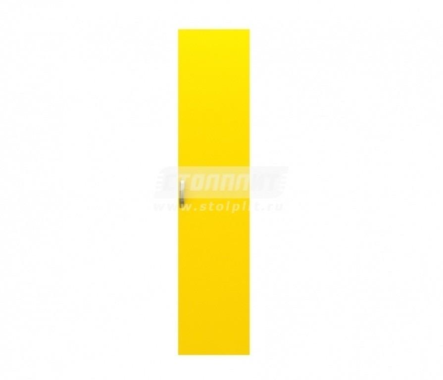 Фасад Фред F-1007 к корпусу СБ-1007Детская<br>Яркая и качественная дверца для шкафа в детской.<br><br>Длина мм: 462<br>Высота мм: 2106<br>Глубина мм: 16<br>Цвет: Желтый