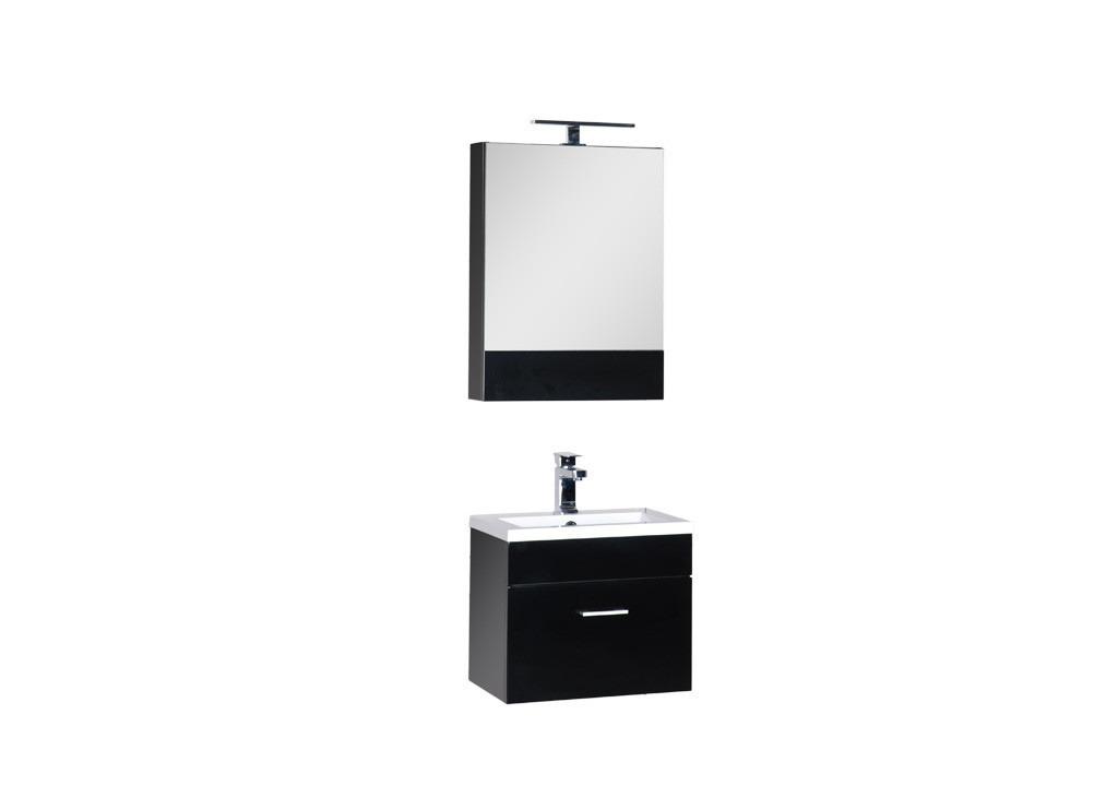 Комплект мебели Aquanet Нота 50 черныйКомплекты мебели для ванной<br><br><br>Длина мм: 0<br>Высота мм: 0<br>Глубина мм: 0<br>Цвет: Черный