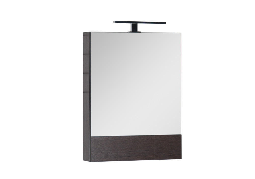 Зеркало Aquanet Нота 50Зеркало- шкаф для ванной<br><br><br>Длина мм: 0<br>Высота мм: 0<br>Глубина мм: 0<br>Цвет: Венге