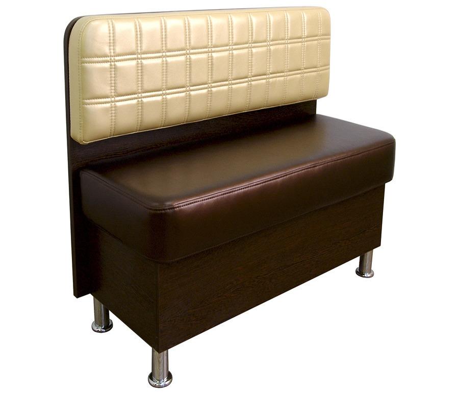 Диван Сити прямой. Ёмкость для хранения.  Обивка экокожаМягкая мебель<br><br><br>Длина мм: 120<br>Высота мм: 82<br>Глубина мм: 55