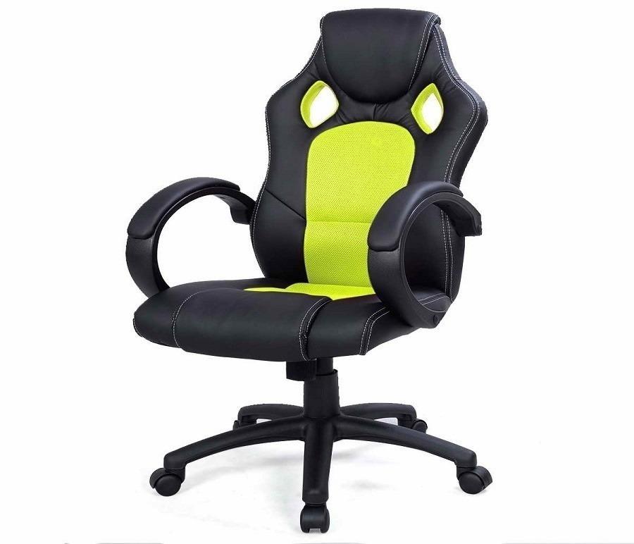 Кресло руководителя Racer CB10068Компьютерные<br><br><br>Длина мм: 510<br>Высота мм: 0<br>Глубина мм: 510<br>Цвет: черный желтый