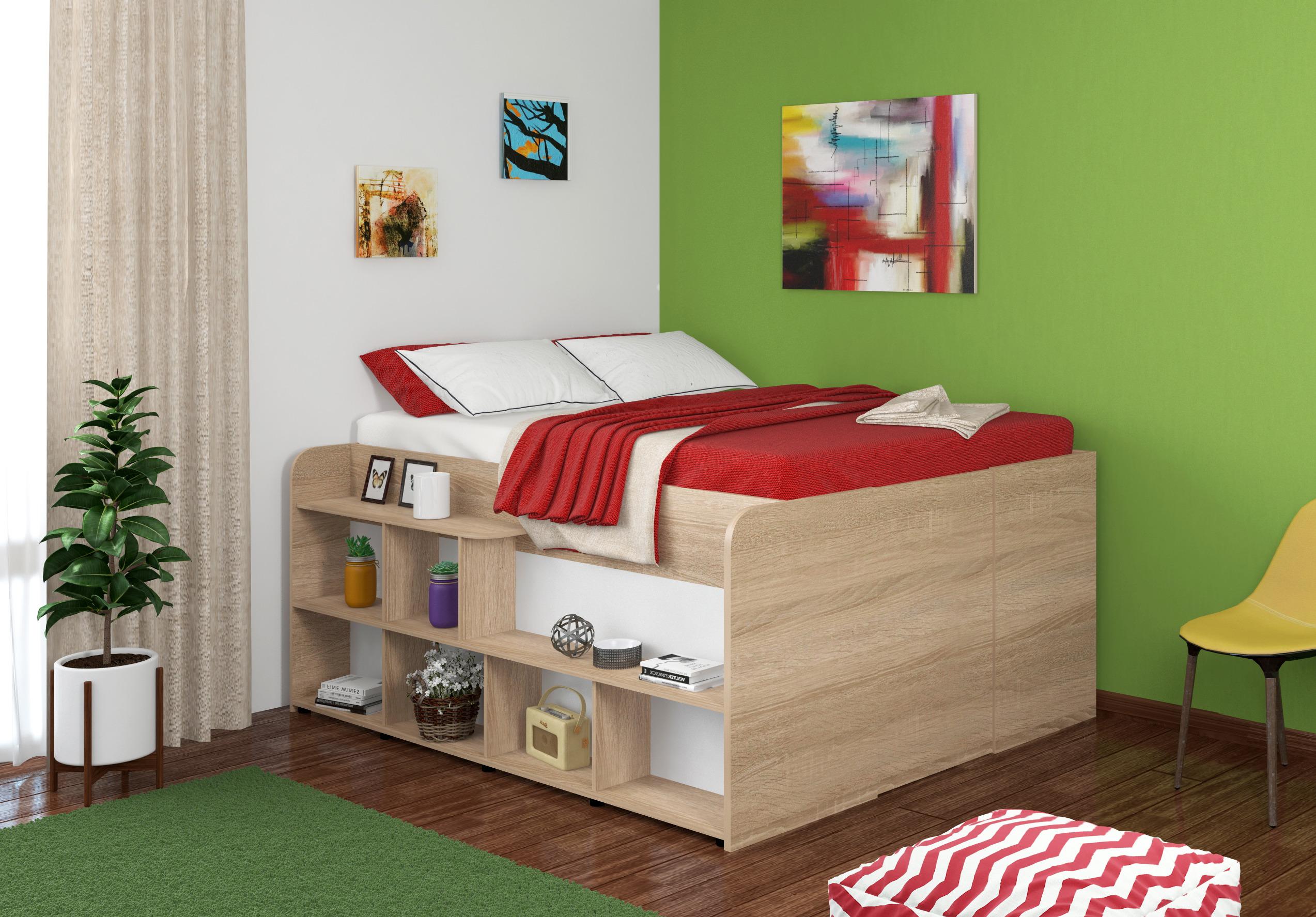 Кровать Twist UP/LКровати одноярусные<br><br><br>Длина мм: 1640<br>Высота мм: 885<br>Глубина мм: 1940