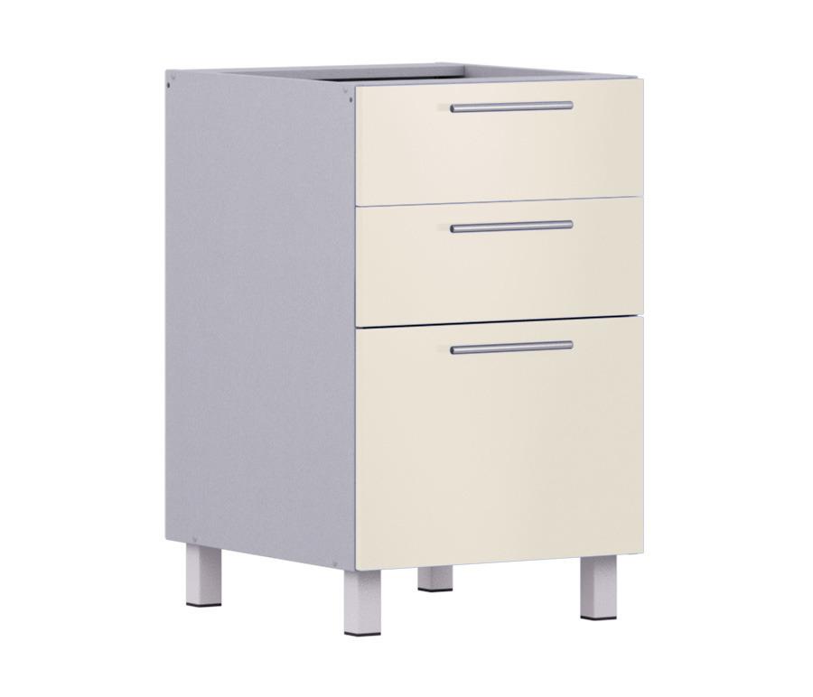 Анна АСЯ-50 Стол с ящикамиМебель для кухни<br>Анна АСЯ-50 Стол с ящиками   стандартный элемент кухонного гарнитура, представляющий собой тумбу на ножках с выдвижными ящиками.<br><br>Длина мм: 500<br>Высота мм: 820<br>Глубина мм: 563