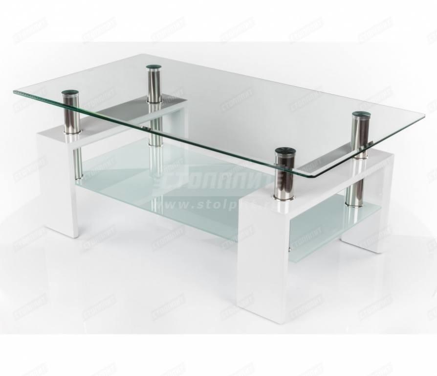 Стол кофейный малый 20920Столы<br><br><br>Длина мм: 600<br>Высота мм: 560<br>Глубина мм: 600<br>Цвет: Белый
