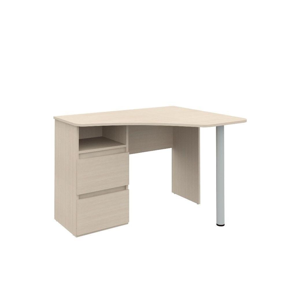 Угловой письменный стол РИНО 212Письменные столы<br><br><br>Длина мм: 1100<br>Высота мм: 750<br>Глубина мм: 900