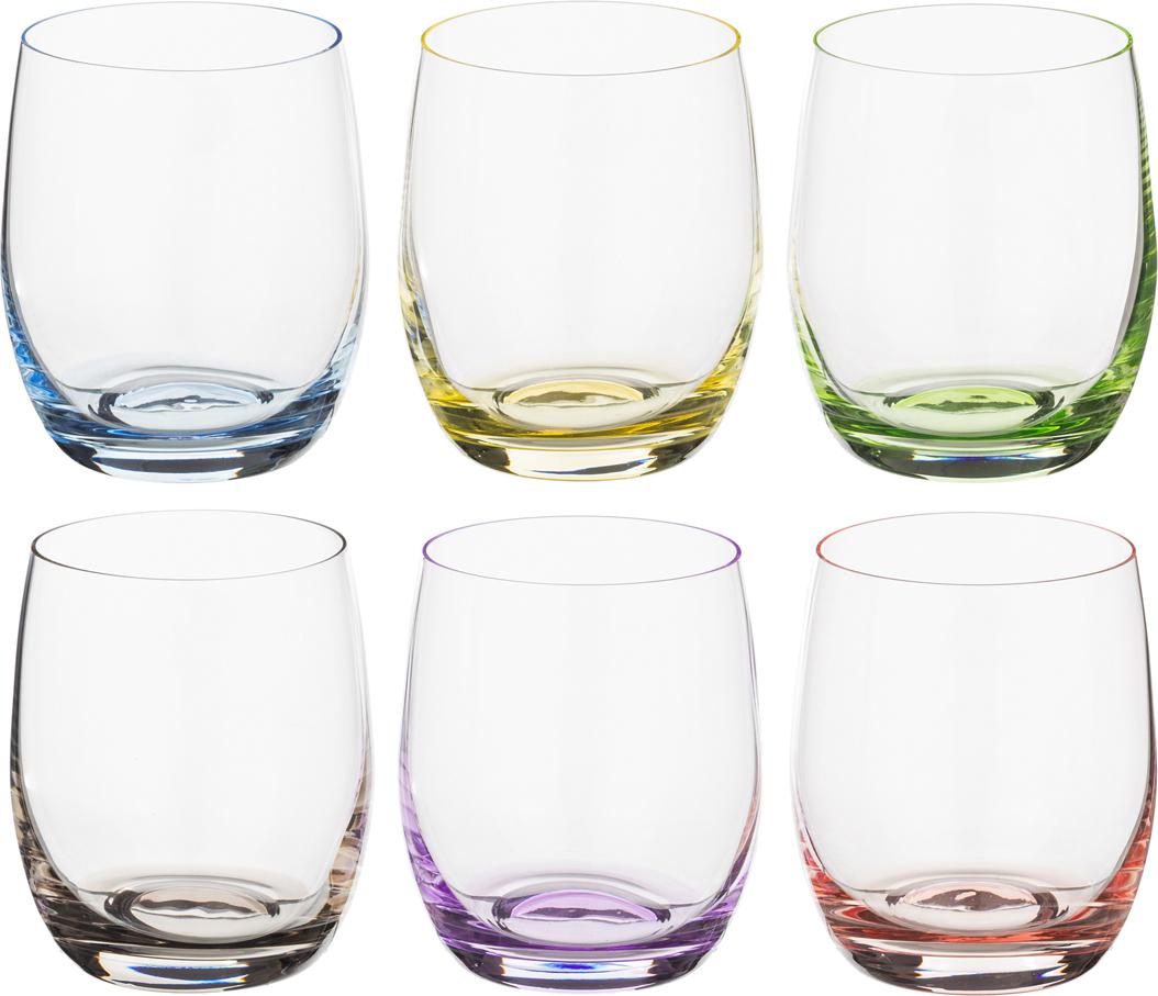 Фото - Набор стаканов для виски Rainbow 300 мл набор стаканов для виски pure 389 мл