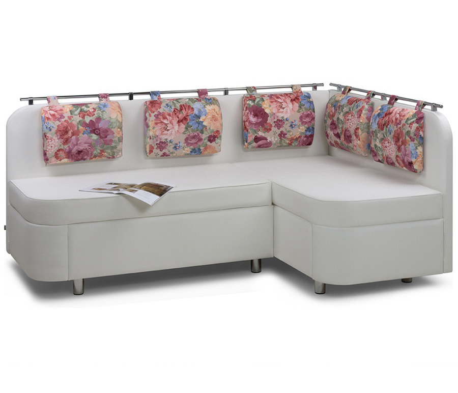 Кухонный уголок Лагуна М1Мягкая мебель<br><br><br>Длина мм: 1810<br>Высота мм: 885<br>Глубина мм: 1210