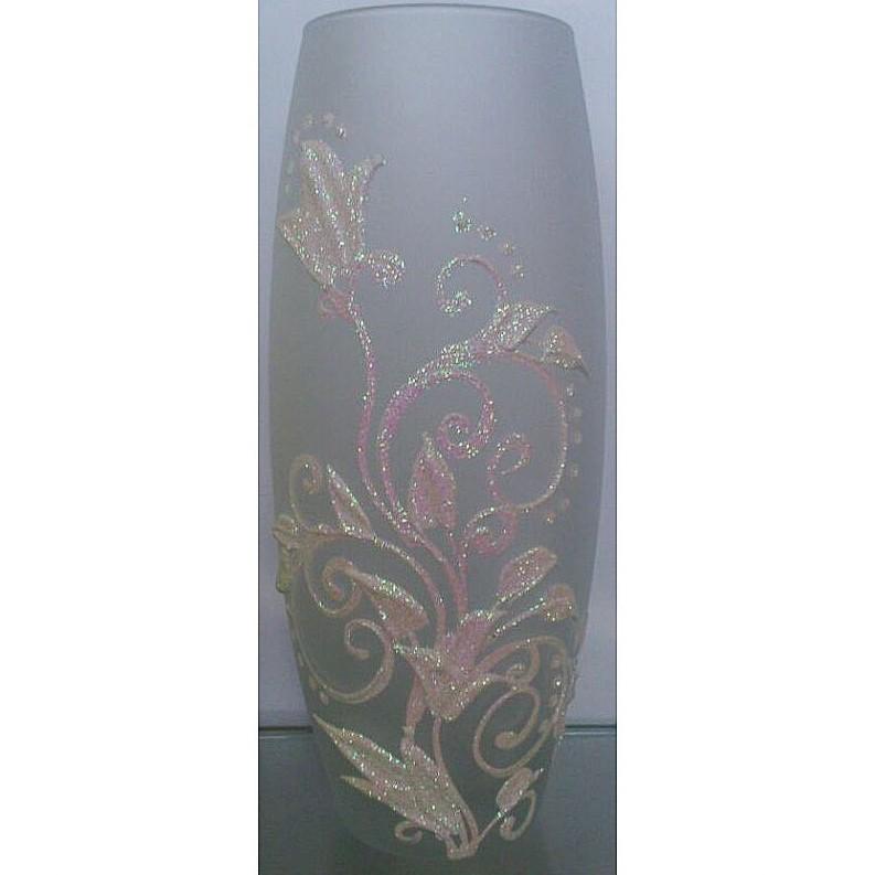 Фото - Ваза для цветов декорированная 25 см 7736/250/77-307 ваза для цветов декорированная 25 см 7736 250 77 302