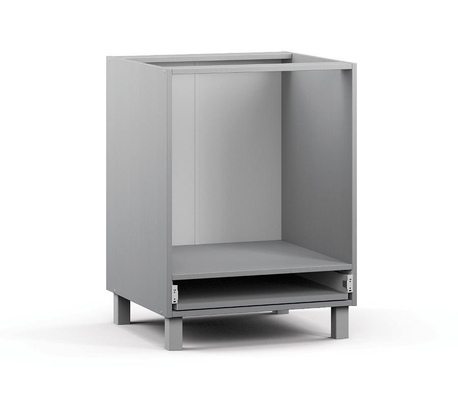 Анна АСД-1-60 Шкаф-стол под встраиваемую техникуМебель для кухни<br>К данному изделию также необходимо дополнительно приобрести фасад: Анна ФД-1-60.<br><br>Длина мм: 600<br>Высота мм: 820<br>Глубина мм: 563