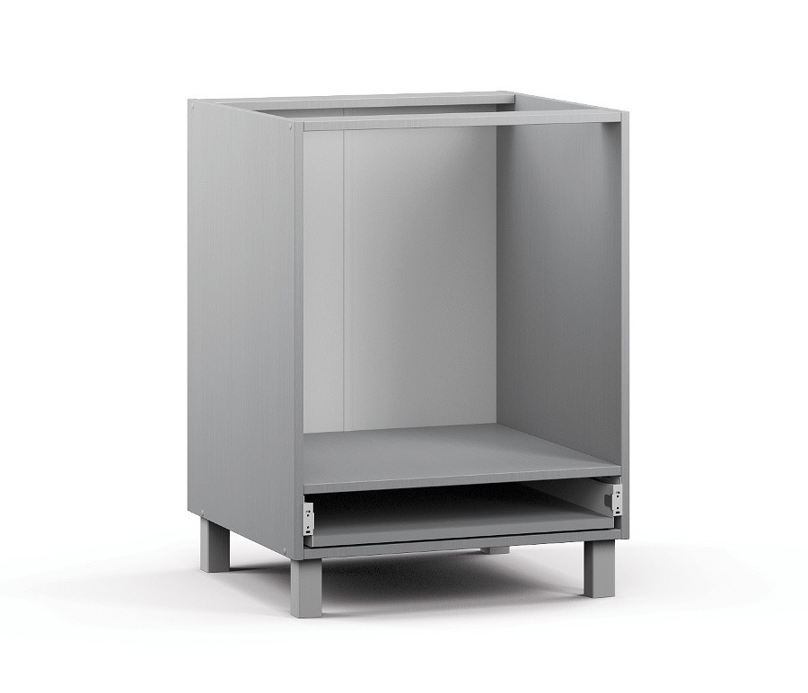 Анна АСД-1-60 Шкаф-стол под встраиваемую техникуКухня<br><br><br>Длина мм: 600<br>Высота мм: 820<br>Глубина мм: 563