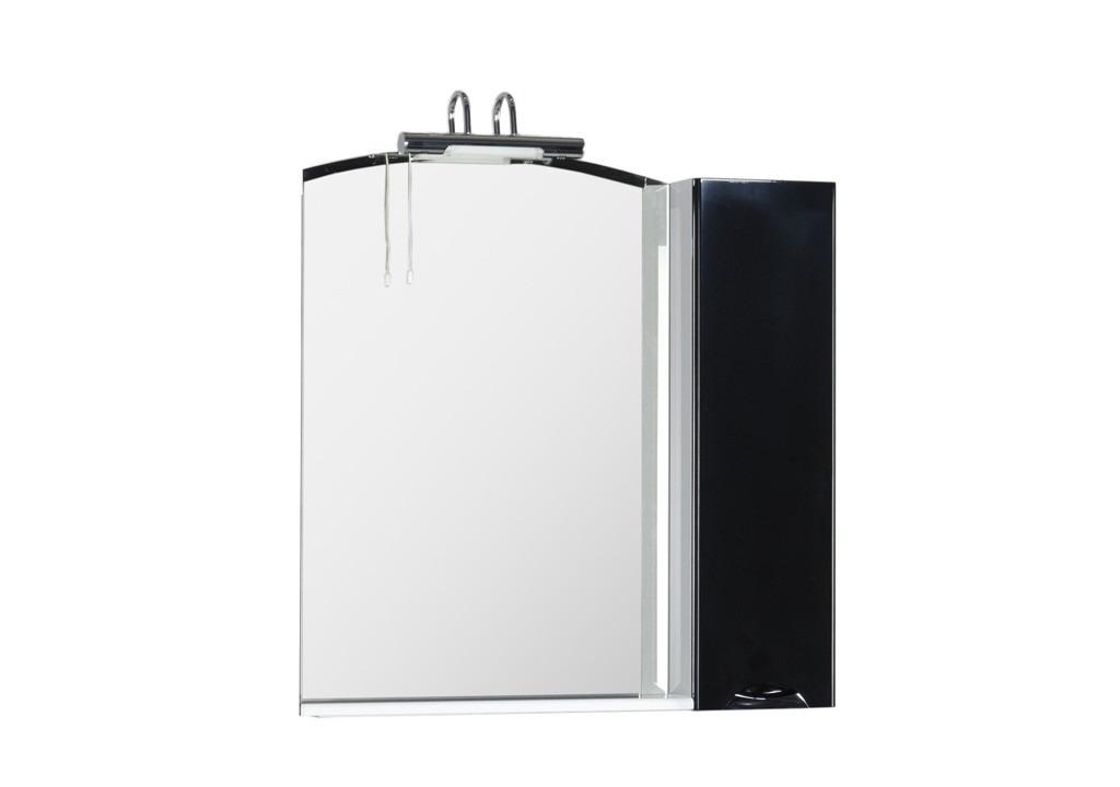 Зеркало Aquanet Асти 85 черныйЗеркало- шкаф для ванной<br><br><br>Длина мм: 0<br>Высота мм: 0<br>Глубина мм: 0<br>Цвет: Белый Глянец
