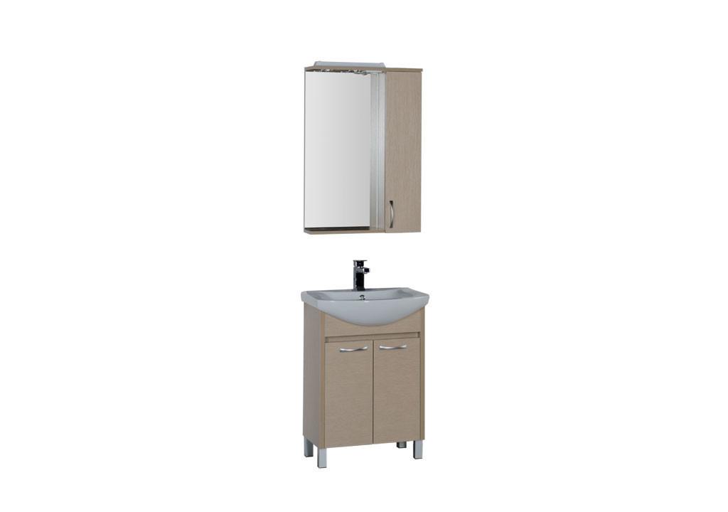 Комплект мебели Aquanet Донна 60  (2 дверцы)Комплекты мебели для ванной<br><br><br>Длина мм: 0<br>Высота мм: 0<br>Глубина мм: 0<br>Цвет: Светлый дуб