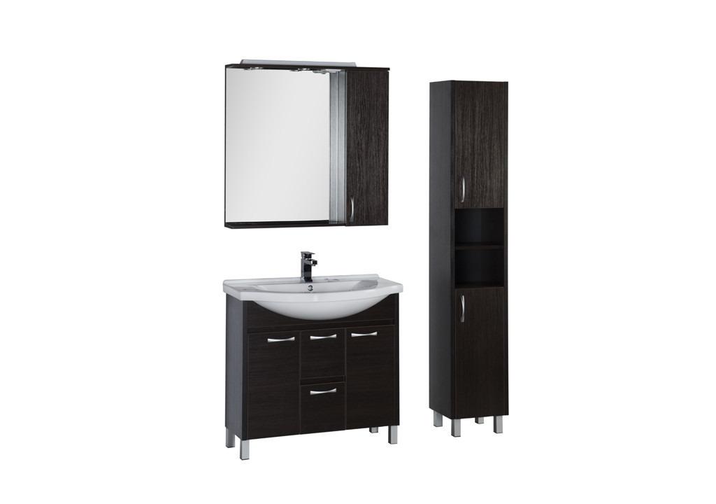 Комплект мебели Aquanet Донна 100 венгеКомплекты мебели для ванной<br><br><br>Длина мм: 0<br>Высота мм: 0<br>Глубина мм: 0<br>Цвет: Венге