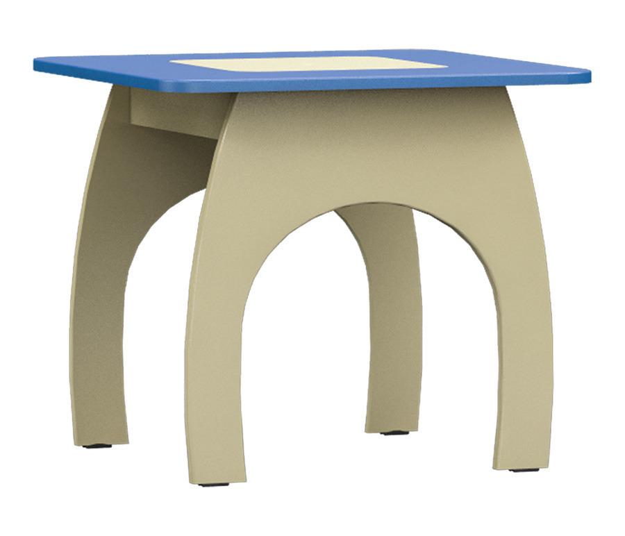 Денди СБ-1425 СтолДетские парты, столы и стулья<br><br><br>Длина мм: 580<br>Высота мм: 510<br>Глубина мм: 580