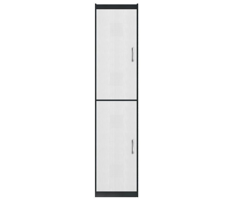 Сити СБ-875 ШкафШкафы<br>Высокий и компактный двухдверный шкаф.<br><br>Длина мм: 500<br>Высота мм: 2218<br>Глубина мм: 349