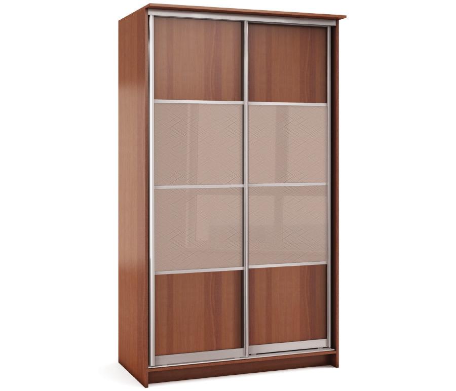 Шкаф 2-х дверный СБ-1083БП ЯблоняШкафы<br><br><br>Длина мм: 1495<br>Высота мм: 2420<br>Глубина мм: 704