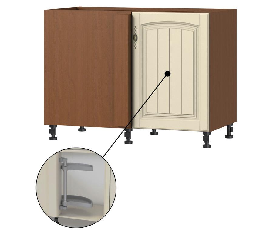 Регина РСПК-100 стол приставной с карусельюГарнитуры<br>Преимущество этого стола в том, что при открывании дверцы выезжают две секции для хранения различных вещей. Дополнительно рекомендуем приобрести столешницу.<br><br>Длина мм: 1087<br>Высота мм: 820<br>Глубина мм: 563