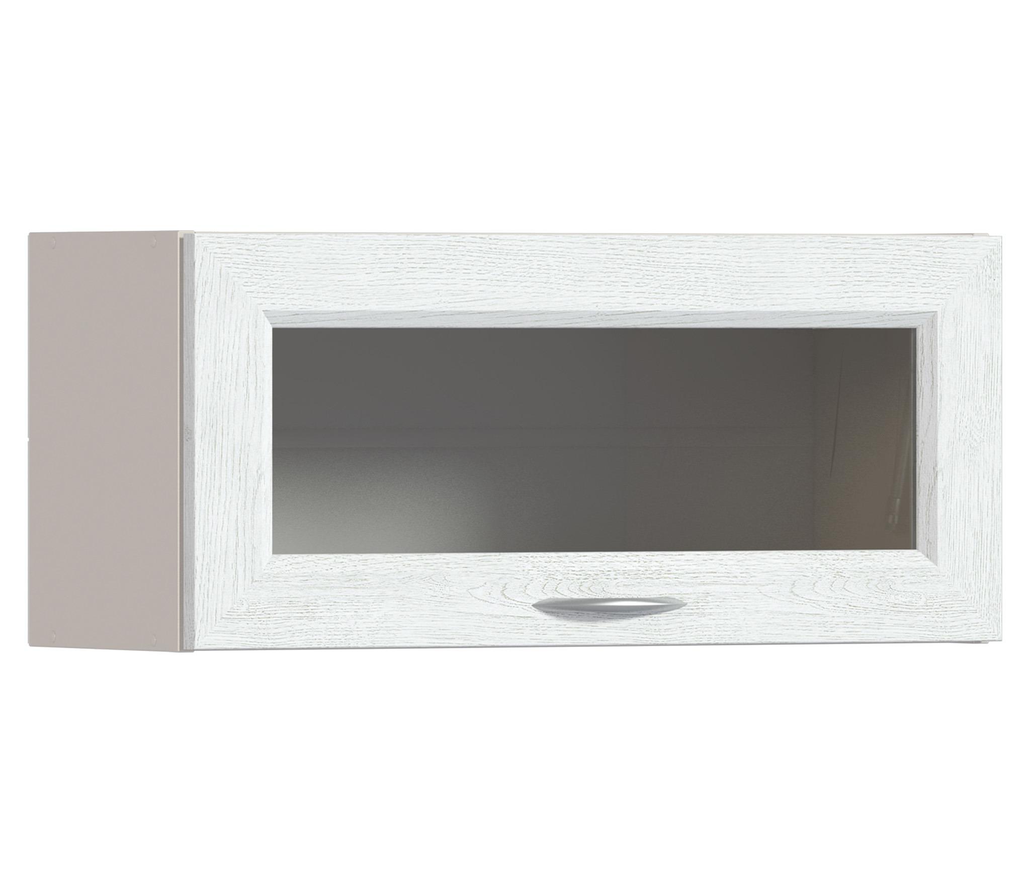 Регина РП-280 Полка над вытяжкой с витринойМебель для кухни<br><br><br>Длина мм: 800<br>Высота мм: 360<br>Глубина мм: 289